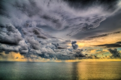 Early Sunset Over the Gulf of Mexico 2