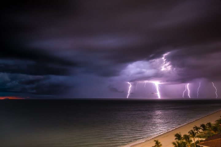 Lightning Storm At Sunset Is Chosen as Contest Finalist