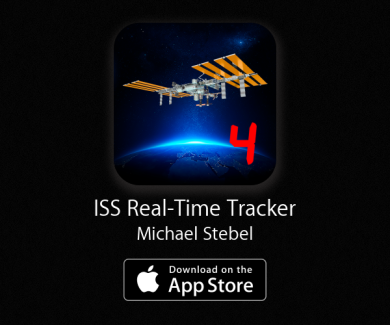 ISS Real-Time Tracker 4 - Track the international space station in real time on your iPhone or iPad